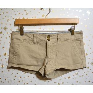 American Eagle Khaki Shorts Size 2